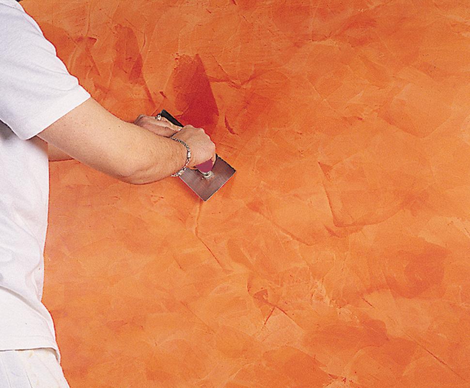 Decoraciones isle as estuco for Aplicar cera de concreto sobre baldosas